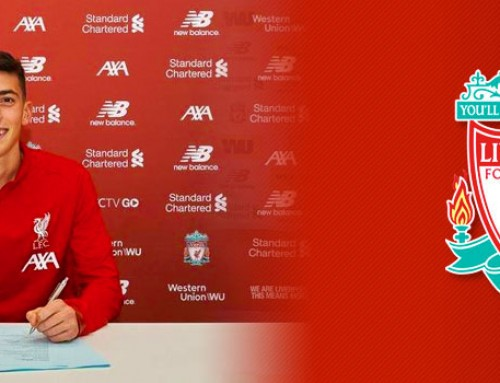 Matteo Ritaccio signs pro contract with Liverpool FC